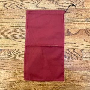 Bottega Veneta Red Dust Bag